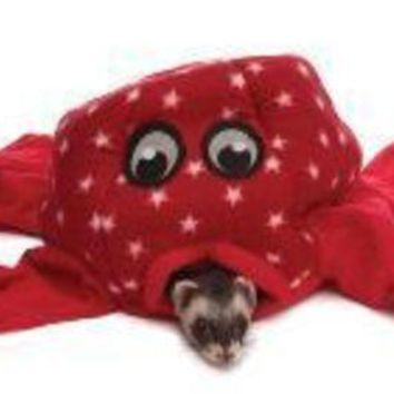 LMFYN5 Marshall Pet Fleece Ferret Octo Play Toy