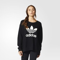 adidas Knit Sweatshirt - Black | adidas US