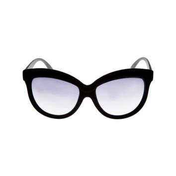 Velvet Oversized Cateye Sunglasses