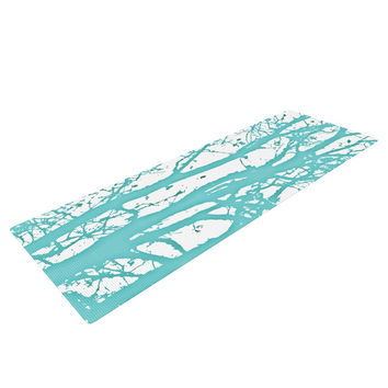 "Monika Strigel ""Mint Trees"" Yoga Mat"