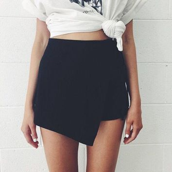 *Online Exclusive* High Waist Summer Skort