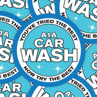 "Breaking Bad sticker - A1A Car Wash! - You've tried the best now try the best!""  decal bumper sticker"