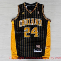 Paul George Indiana Pacers 24 NBA Basketball Jersey Paul George Indiana Pacers