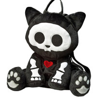 Kit Plush Backpack | SKELANIMALS