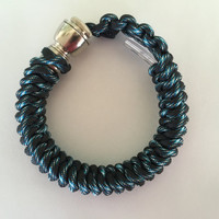 Lightning 550 Paracord Stealthy Hidden Pipe Bracelet w/ FREE SHIPPING