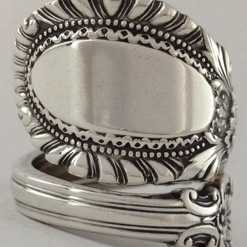 Size 8 Vintage Sterling Silver Reed & Barton Spoon Ring