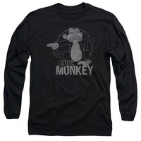 Family Guy - Evil Monkey Long Sleeve Adult 18/1