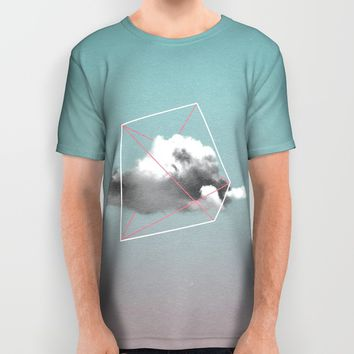 cloud storage All Over Print Shirt by LEEMO