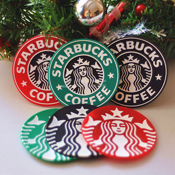 starbucks coasters