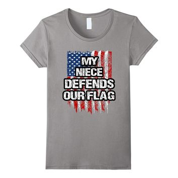 Military Niece Clothing - American Flag Apparel