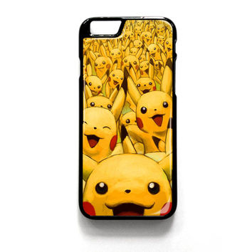 Pikachu Pokemon Wallpaper iPhone 4 4S 5 5S 5C 6 6 Plus , iPod 4 5  , Samsung Galaxy S3 S4 S5 Note 3 Note 4 , and HTC One X M7 M8 Case