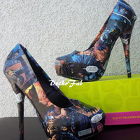 Batman The Dark Knight High Heel Pumps