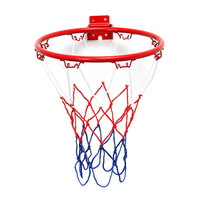 32cm/45cm Wall Mounted Hanging Basketball Goal Hoop Rim Net Metal Sporting Goods Netting indoor or outdoor for basketball game