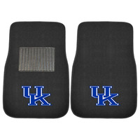 Kentucky Wildcats NCAA 2-pc Embroidered Car Mat Set