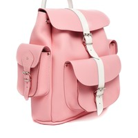 Grafea Hari Candy Crush Backpack in Pink with White