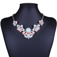 New 2015 Hot Pendant Necklace Women Jewelry Trends Link Chain Statement Necklaces Water Drop Colar Pendants For Gift Party