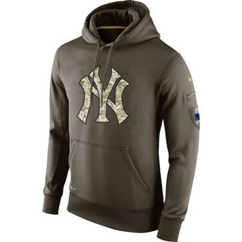 New York Yankees Nike MLB Salute To Service Pullover Hoodie