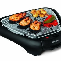 Toastess THG489 Smokeless Indoor Health Grill, Stainless Steel