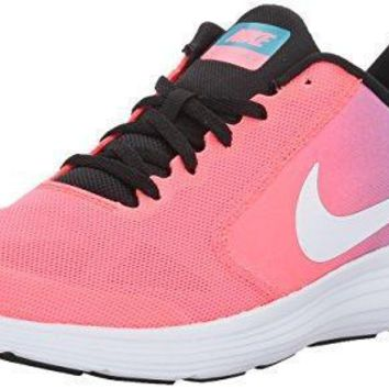 NIKE Kids' Revolution 3 Running Shoe (GS) nikes running shoes for women