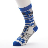 Star Wars R2-D2 Crew Socks - Men, Size: One Size (Blue)