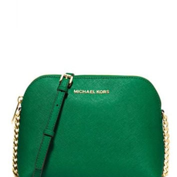 Michael Michael Kors Cindy Large Dome Crossbody