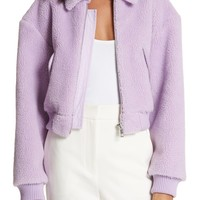 Tibi Plush Fleece Jacket | Nordstrom