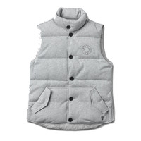 Diamond Supply Co. - DTC Puffer Vest - Tech Flece - Heather Grey