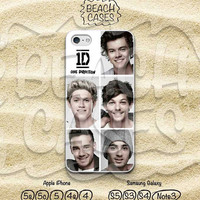 iPhone 5 case, One Direction, iPhone 5c Case, Boy Band, iPhone 5/5s, iPhone 4/4s, Samsung Galaxy S4 S5 Note3, Hard and Soft case skin- OD07