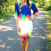Aurora Borealis Dress - Royal