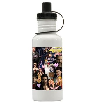 Gift Water Bottles | Once Upon Time Collage Red Apple Tv Series Aluminum Water Bottles