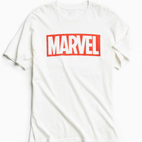 Marvel Logo Tee | Urban Outfitters