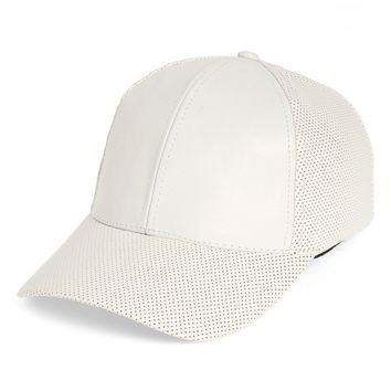 Phase 3 Faux Leather Baseball Cap | Nordstrom