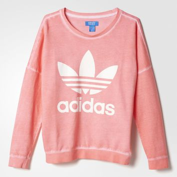 adidas Premium Essentials Washed Sweatshirt - Multicolor | adidas US