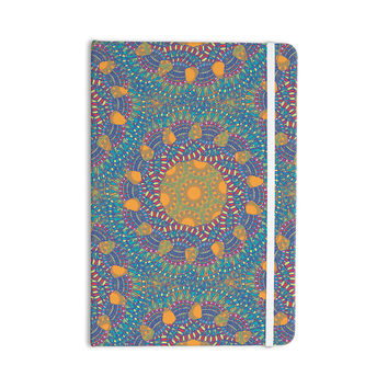 "Miranda Mol ""Prismatic Orange"" Orange Blue Abstract Everything Notebook"