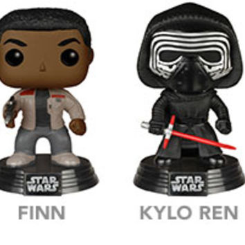 Star Wars Episode VII Pop Vinyl Bobbleheads