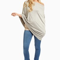 Heather-Grey-Solid-Nursing-Cover/Scarf