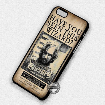 Sirius Black Wanted Poster - iPhone 7 6 Plus 5c 5s SE Cases & Covers