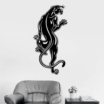 Tiger Animal Wall Stickers Vinyl Decal Panther Tribal Predator Unique Gift (ig569)