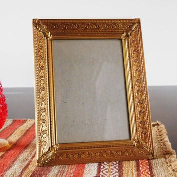 Ornate Gold Picture Frame