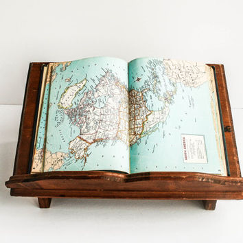Rustic Vintage Book Stand