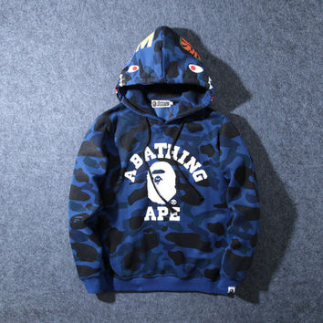 Men's Fashion Camouflage Summer Hoodies [10203237511]