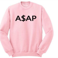 [ASAP] stylish English sweater personalized couple sweater