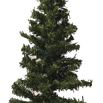 "9"" Mini Pine Artificial Village Christmas Tree - Unlit"