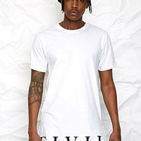 Civil Zip Longline Tee