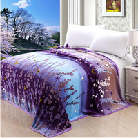 High Density Super Soft Flannel Blanket To on For The Sofa Bed Textile Cute Plush Wool Fluffy Boys Blanket