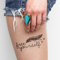 Escape Plan - Temporary Tattoo (Set of 2)