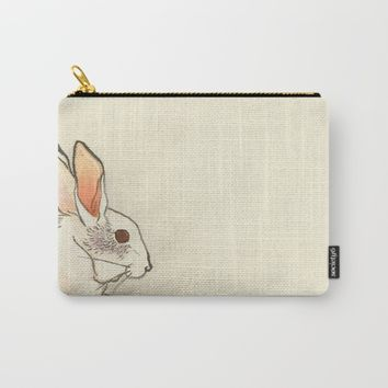 Le Lapin Carry-All Pouch by anipani