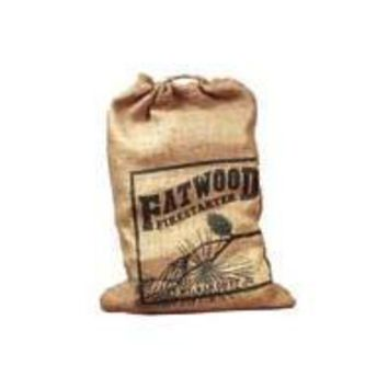 Wood Products Internation - Fatwood Burlap Bag