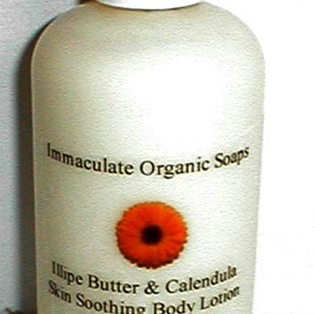 Illipe Butter & Calendula Skin Soothing Body Lotion