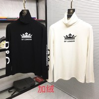 DG 2019 autumn and winter new men and women sweater  trend couple models print